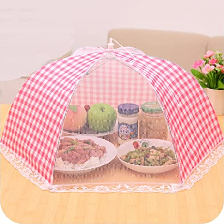 TEERFU 3Pack food tents Mesh Screen Food Cover Tent Umbrella Reusable and Collapsible Outdoor Picnic  sc 1 st  Amazon.com & Amazon.com: TEERFU 3Pack food tents Mesh Screen Food Cover Tent ...