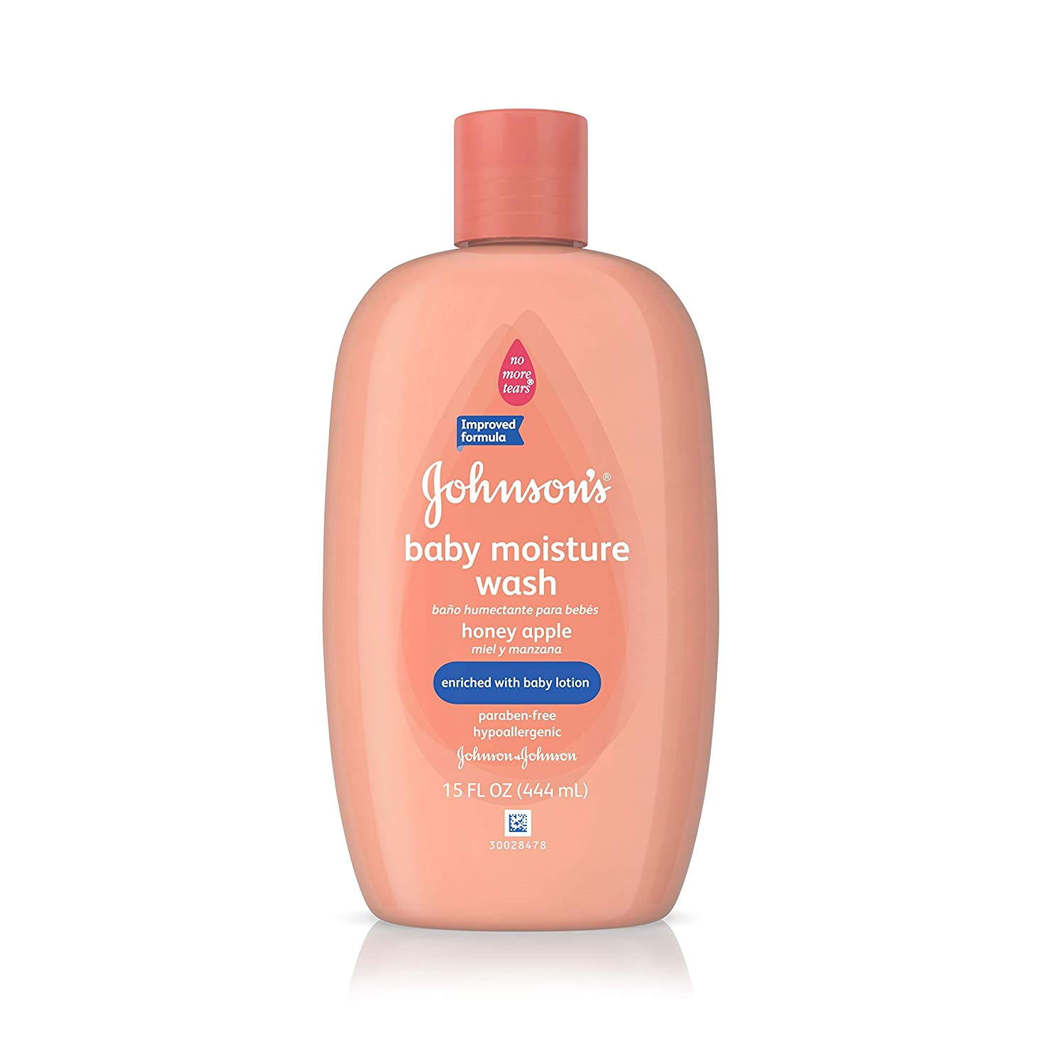 Johnson's Baby Wash - Honey Apple - 15 oz