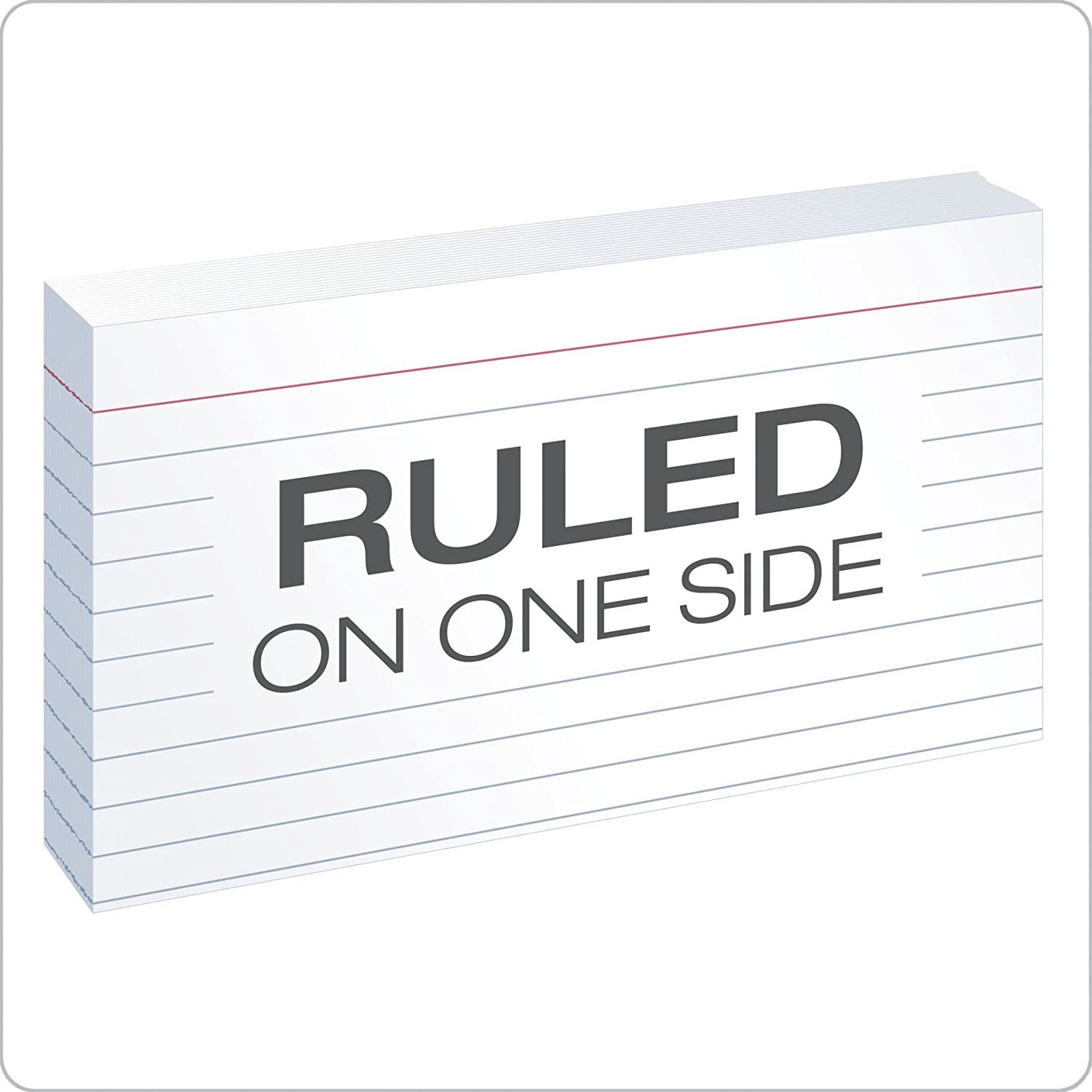 "oxford ruled index cards 3"" x 5"" white 10 packs of"