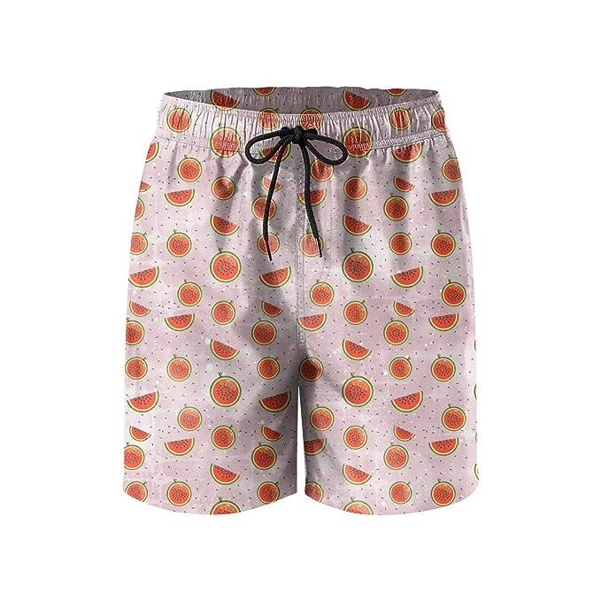 4c92cf08 UTYHR Happy Watermelon Festival Mens Swimming Shorts ...