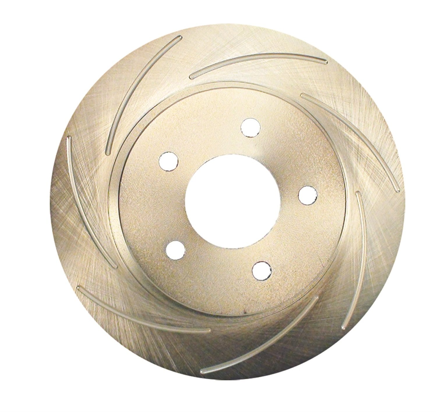 SSBC 23071AA2L Rear Left Driver Side Slotted Rotor Stainless Steel Brakes