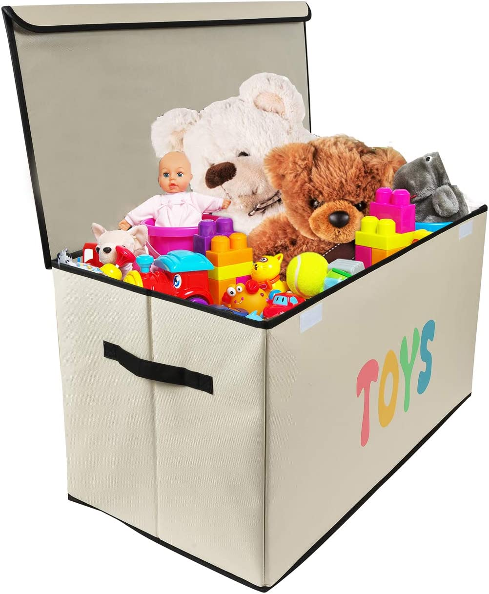Amazon Com Woffit Toy Storage Organizer Chest For Kids Living