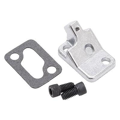 Edelbrock 8901 Choke Block-Off Plate: Automotive