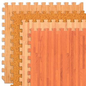 Amazon We Sell Mats Forest Floor Grain Interlocking Foam Anti