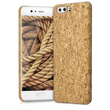 kwmobile Funda para Huawei P10 - Carcasa Protectora de Corcho para teléfono móvil - Cover Trasero rígido y Resistente