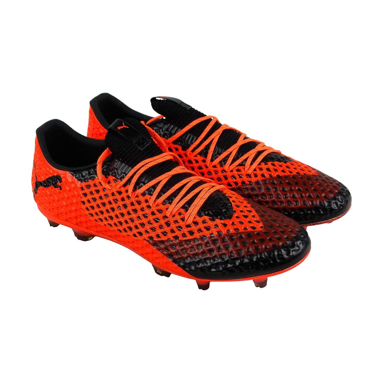 cd8480e7c Amazon.com | PUMA Future 2.1 Netfit Low Fg Ag Mens Orange Synthetic Soccer  Cleats Shoes | Soccer
