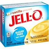 Jell-O Sugar-Free Vanilla Instant Pudding Mix 1 Ounce Box (Pack of 6)