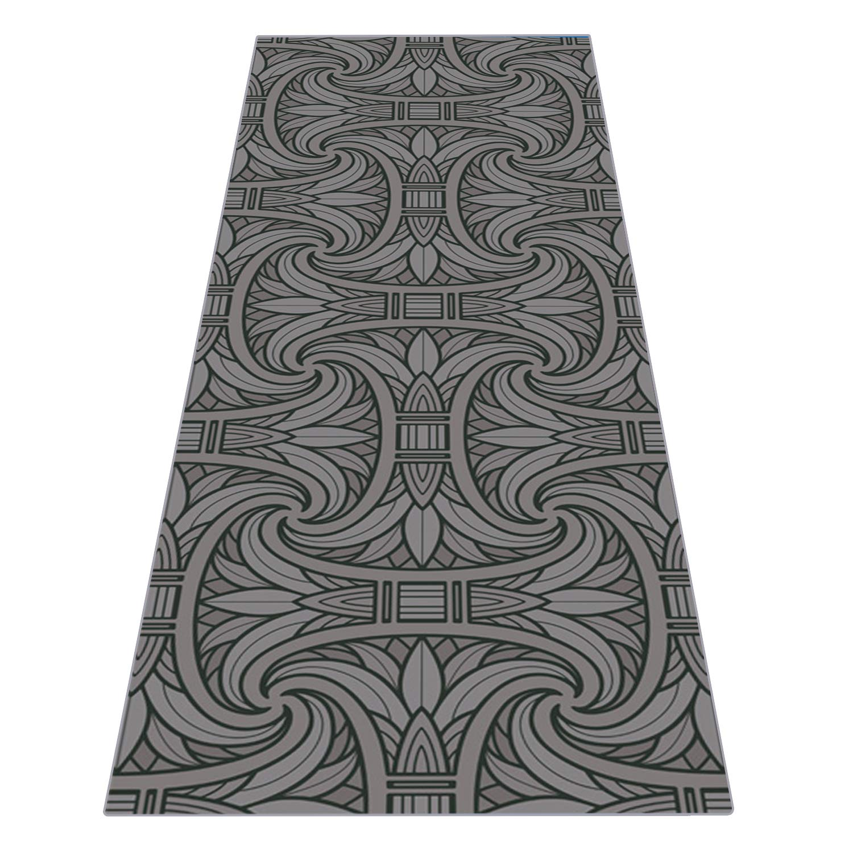 Ideas de regalo heathyoga toalla de Yoga, diseño exclusivo de esquina bolsillos + libre botella de Spray, 100% microfibra toalla protectora de ...