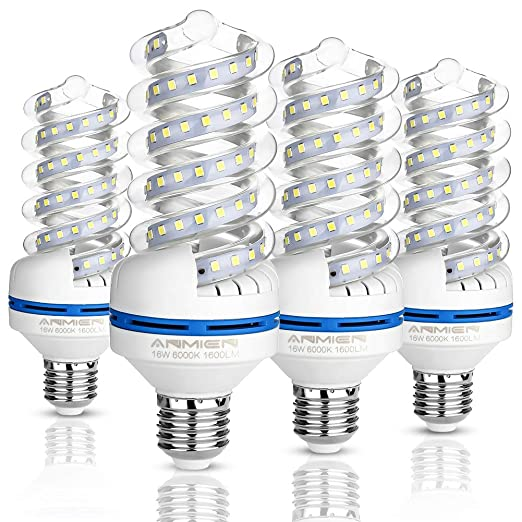 Bombillas LED E27 16W (equivalente a 120watt), Blanco Frío 6000k Led Lámpara,