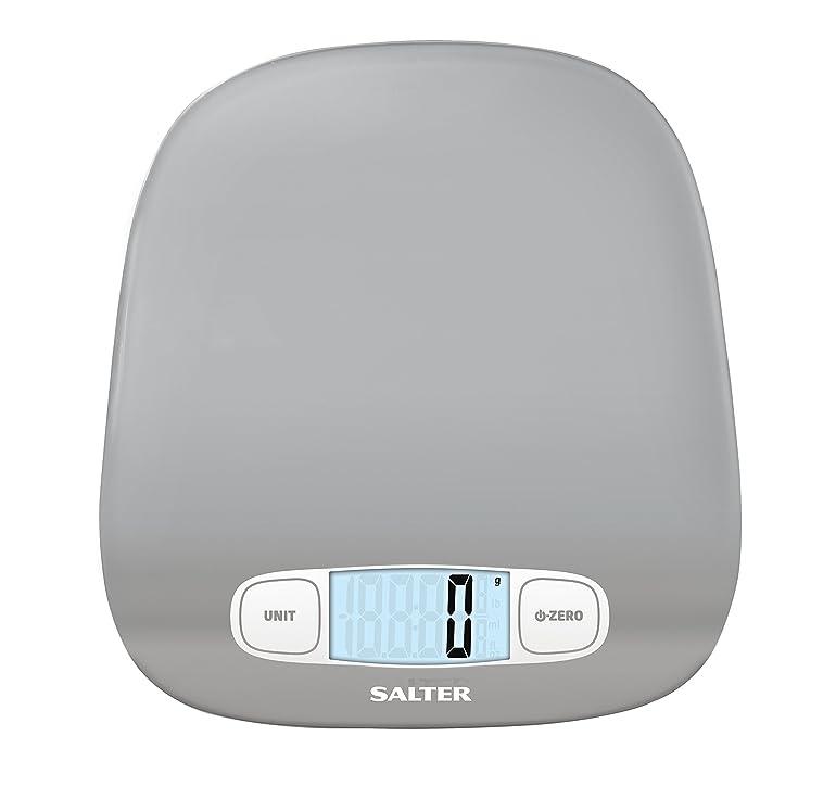 Salter 6 Kg Contour Digital Kitchen Scale, Silver: Amazon.co.uk ...
