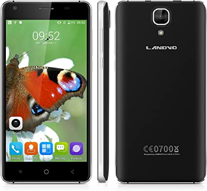 Landvo XM200 Pro - 4G Smartphone Libre Android 6.0 (Pantalla 5.0 ...