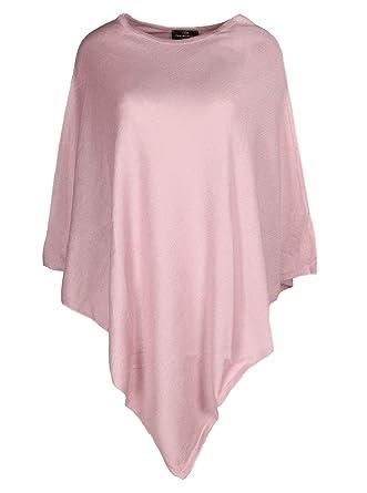 7bb7645f53dcda Eleganter und hochwertiger Poncho   Cape für Damen in frischen Farben für  2015 ( lila ). Tolle alternative zu Pullover und Strickjacke.