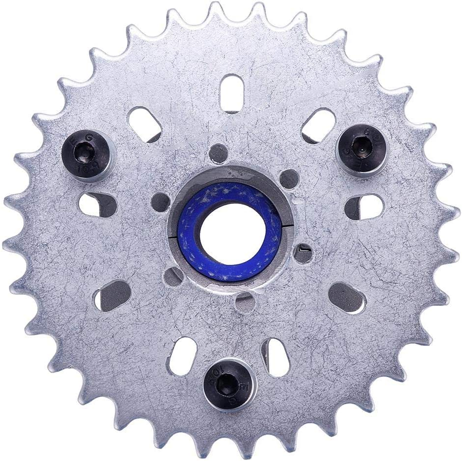 Keyzone 36T 36 Tooth Sprocket Adapter Fit 1//2 inch 415 Chain 49cc 50cc 66cc 80cc 2 Stroke Motorized Bike