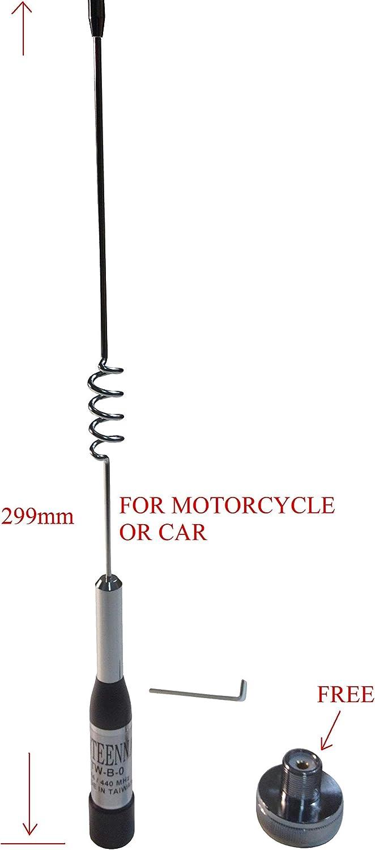 Dual Band Antenna NMO UHF VHF 70 cm 2 m for mobile radio Tram 1180 High Gain