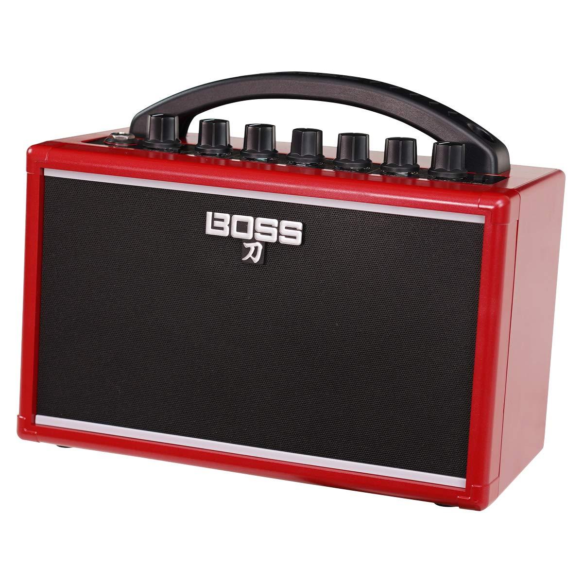 BOSS ボス ポータブルギターアンプ IKEBE ORIGINAL KATANA-MINI  RED  [KTN-MINI-R]   B07L3L37JG