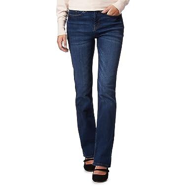 c576d16bc28 John Rocha Womens  Black Dark wash  Elsa  Regular fit Straight Leg Jeans   RJR.John Rocha  Amazon.co.uk  Clothing