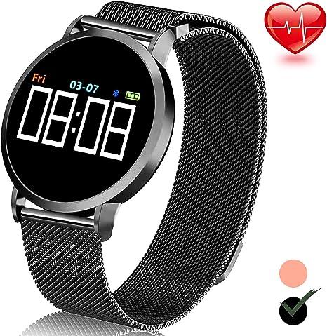 Amazon.com: Turnmeon - Reloj inteligente IPS para hombre y ...