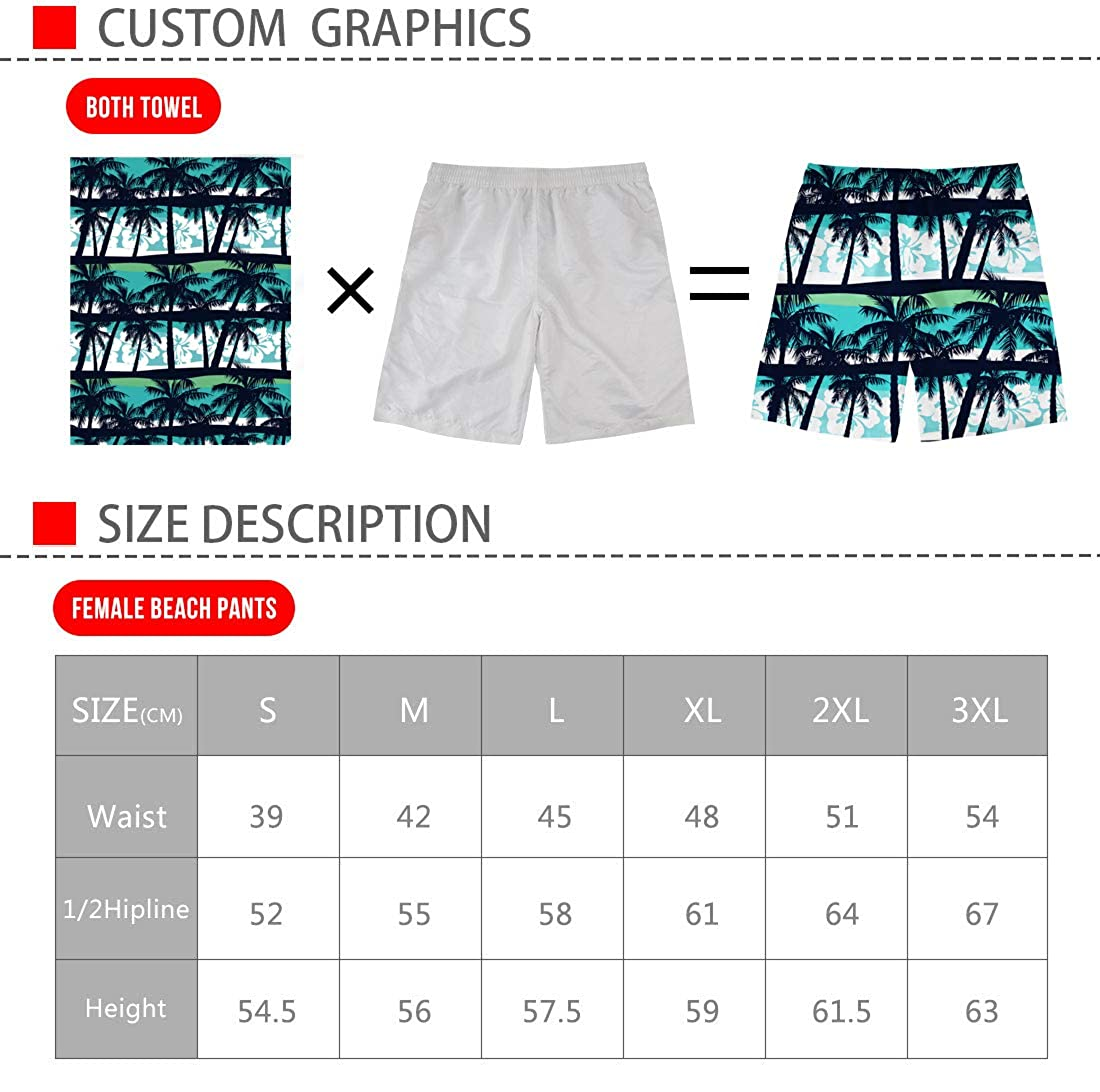 Coloranimal Swim Trunks Quick Dry Bathing Suit Summer Beach Holiday Casual Shorts for Men