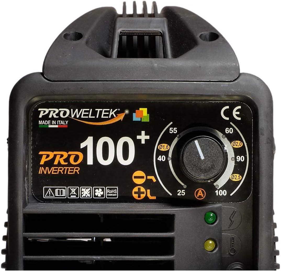 Garanti 3 ans Poste /à souder Inverter PRO 100 Cagoule LCD 9//13
