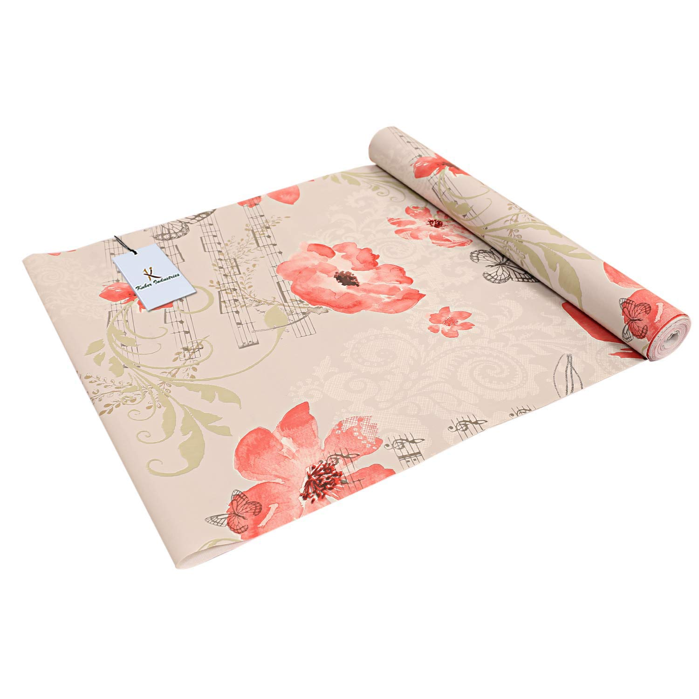 Kuber Industries PVC Wardrobe/Kitchen/Drawer Shelf Mat 5 Mtr