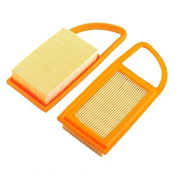 Amazon.com: NUEVO Pack de 2 Filtro de Aire de ajuste para ...