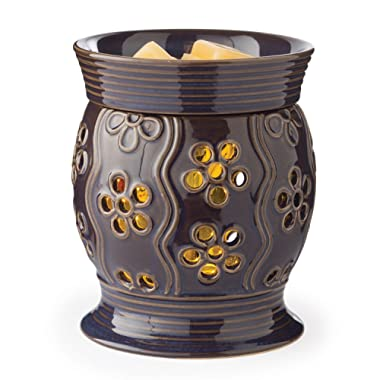 CANDLE WARMERS ETC. 2-in-1 Flickering Fragrance Warmer, Bloom
