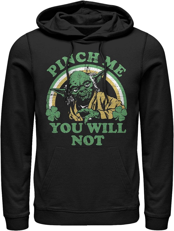 Star Wars Mens Do Not Pinch Yoda Hoodie