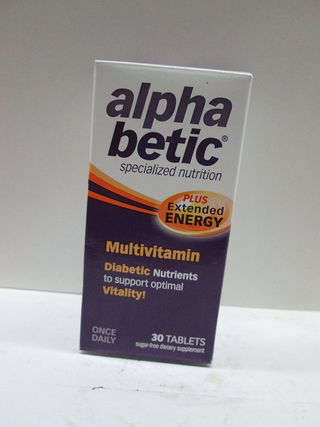 alpha betic Multi-Vitamin Caplets 30 Caplets Pack of 6