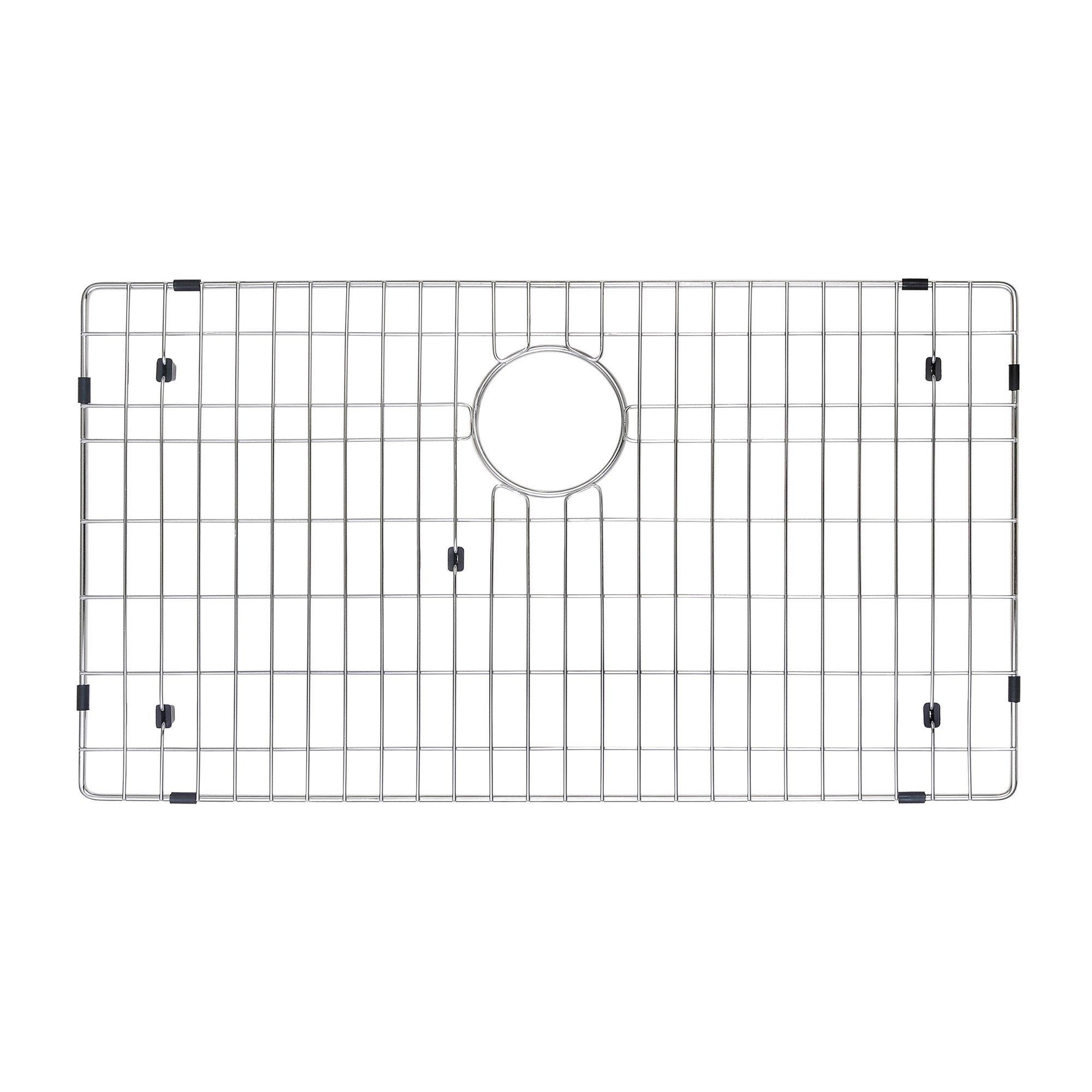 Kraus KEA-14445BN Aura Bathroom Accessories - Shelf with Railing Brushed Nickel by Kraus (Image #8)