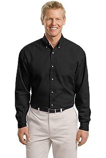 ce4f8cfaf79 Port Authority Men s Tall Long Sleeve Denim Shirt at Amazon Men s ...