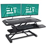 EleTab Height Adjustable Standing Desk Sit to Stand