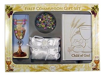 Amazon.com: Primera Comunión Set de regalo niñas con ...