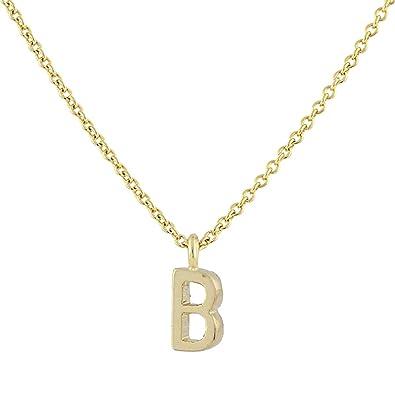 Amazon 1928 jewelry gold tone 7mm initial b pendant 1928 jewelry gold tone 7mm initial quotbquot pendant necklace mozeypictures Choice Image