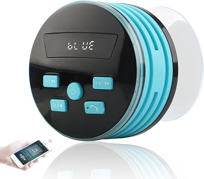 Expower 5 W Bluetooth Altavoz estéreo altavoces portátiles con FM ...