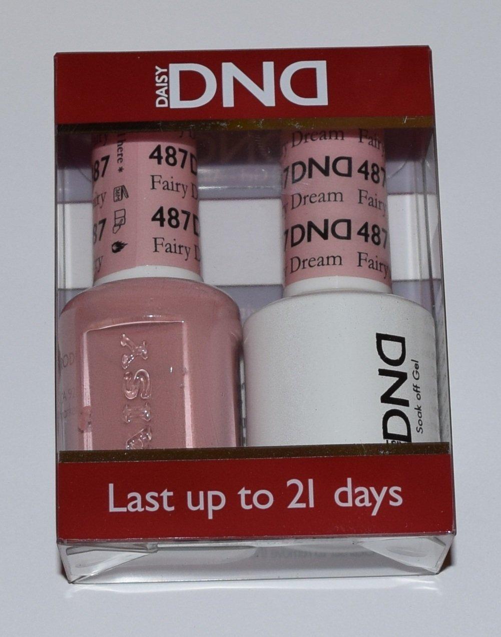 Amazon.com: DND Gel & Matching Polish Set #487 - Fairy Dream + 1 ...
