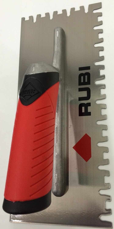 Rubi Tools Pro Rubiflex Trowel YW for Large Format Tile Ref. 72949