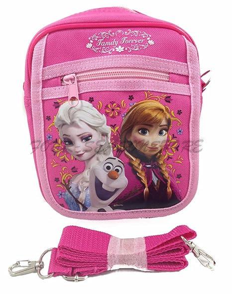 e39051ad1935 Amazon.com: Disney Frozen Queen Elsa Camera Bag Case Little Girl Bag ...