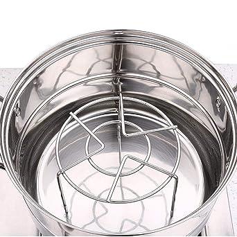 Estante de acero inoxidable para horno y enfriamiento, ideal ...