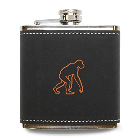 Amazon com | MODERN GOODS SHOP Monkey Flask - Stainless