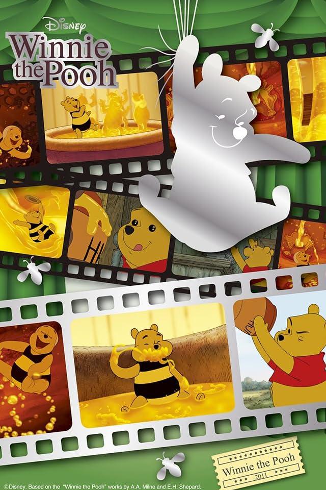 ディズニー プーさん・シアター iPhone(640×960)壁紙画像
