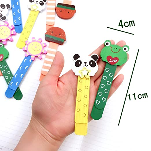 6x MOUSTACHE PENCIL TOPPERS Fun Party Bag Fillers Kids Erasers Rubbers Children
