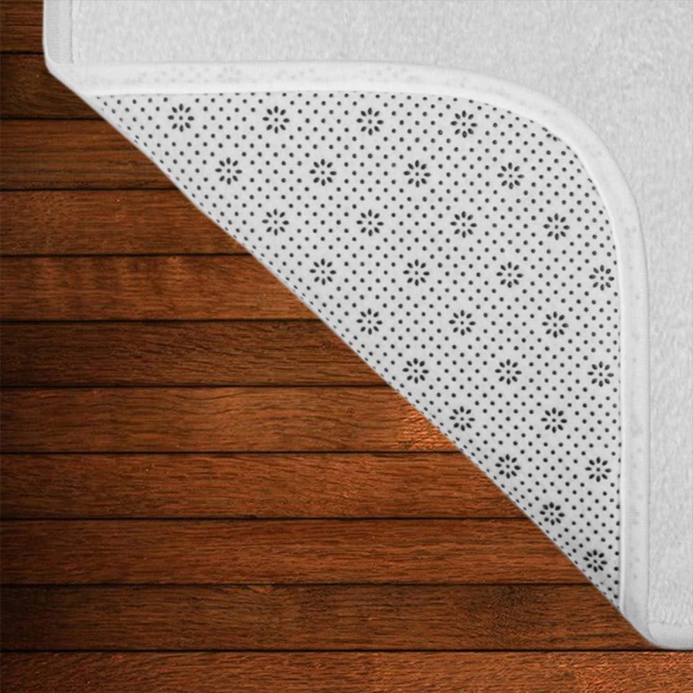 Mugod Western Texas Star Non-Slip Rubber Entrance Door Mat Doormats 23.6 x 15.7 Inch