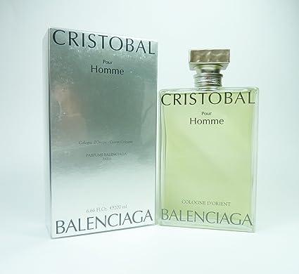 Para hombre Cristobal Pour Homme Balenciaga Colonia splash 200 ml