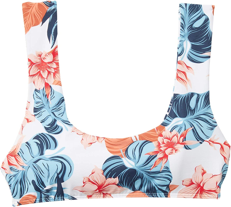 Roxy Womens Print Beach Classics Bralette Top