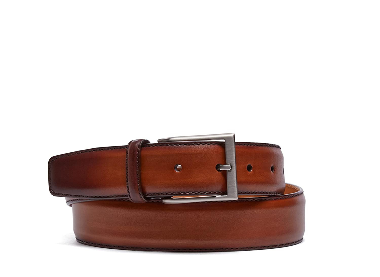 Magnanni Boltan Cognac Men's Leather Belt