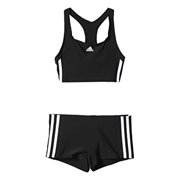 08fbe766128c adidas - Essence - Maillot de Bain - Fille - Noir (Black White) - FR ...