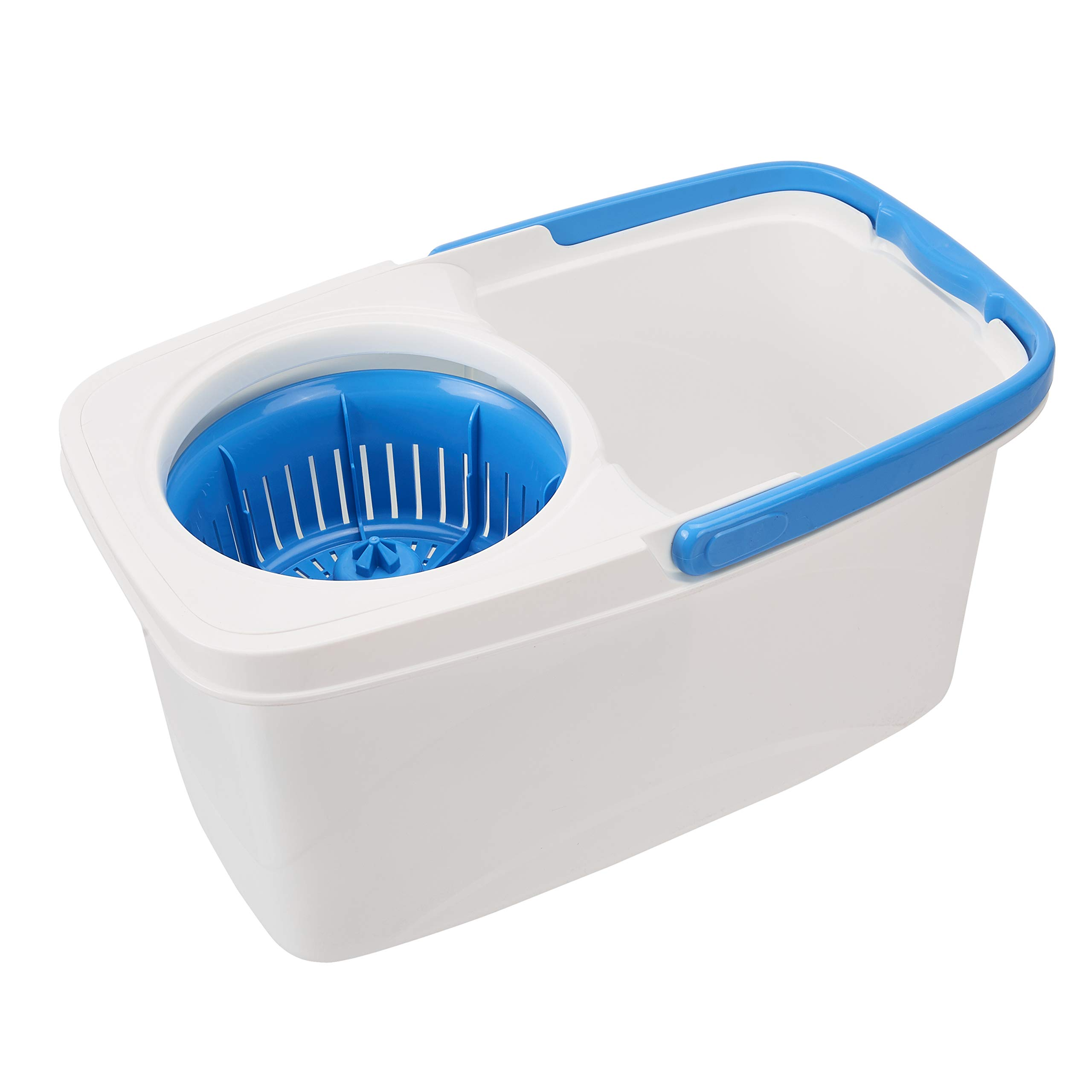 AmazonBasics Spin Mop with Built-In Ringer and Large Water Bucket by AmazonBasics (Image #3)