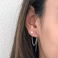 Threader earrings #7