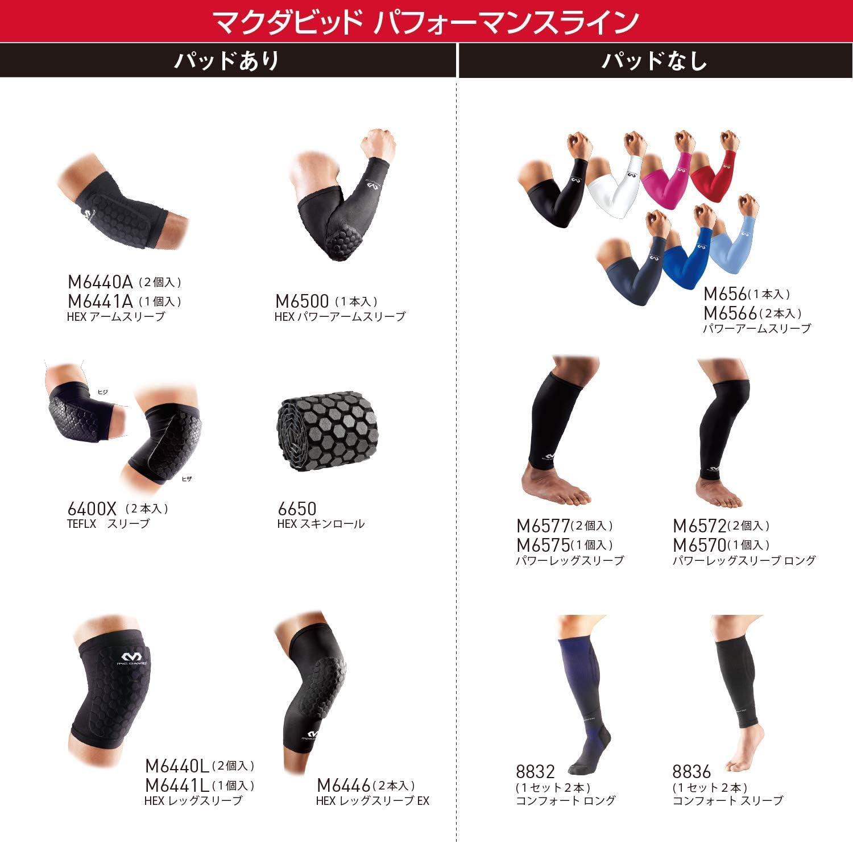 Small Black McDavid Pair Teflx Knee//Elbow//Shin Pads