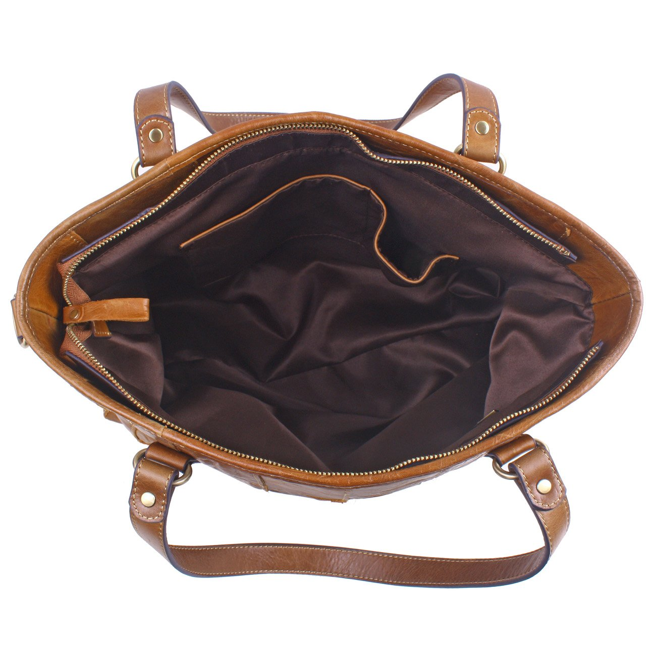 e6e6b3d1f9891 Amazon.com  BIG SALE-Yafeige Women s Vintage Handbag Genuine Leather  Shoulder Bag Tote Bags Satchel Large Cross Body Purse(Brown)  Shoes